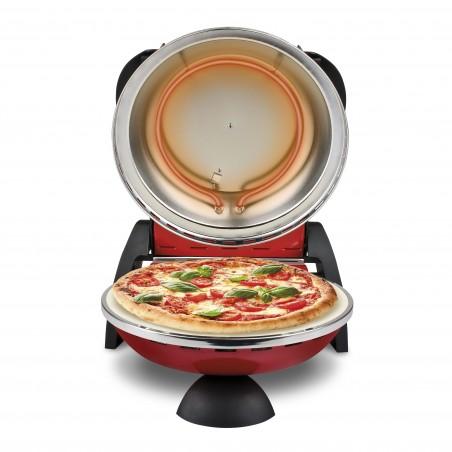 """Forno Pizza Elettrico """"DELIZIA"""" G3 Ferrari Rosso Versione EVO con palette Alluminio 1200W"""