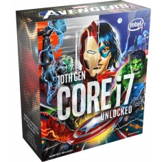 CPU Intel Box Core i7 Processor i7-10700KA 3,80Ghz 16M Avengers Edition Comet Lake LGA 1200