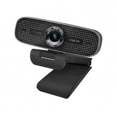 Webcam LogiLink per conferenze HD 2 MP 108 Grad  Nero