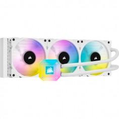 Dissipatore a liquidio Corsair iCUE H150i ELITE CAPELLIX Bianco 360mm, Bianco