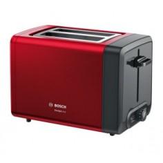 Tostapane Bosch DesignLine TAT4P424DE Rosso e Nero