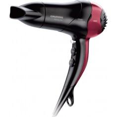 Phon Asciugacapelli Grundig HD 3700 compatto 1800 Watt Nero Rosso
