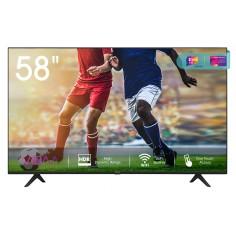 "Smart Tv Hisense 58"" 58A7100F- LED 4K WIFI BLUETOOTH 3HDMI 2USB 1600PCI"