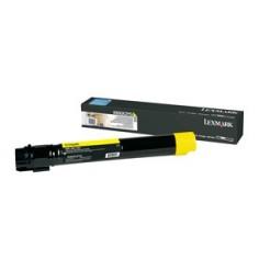 Toner Lexmark giallo X950X2YG 22000 pagine alta capacità
