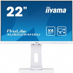 """Monitor iiyama 21.5"""" FullHD VA Bianco"""