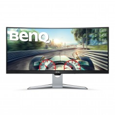 """Monitor BenQ 35"""" HDMI 100 Hz curvo AMD Free-Sync 100Hz Grigio"""