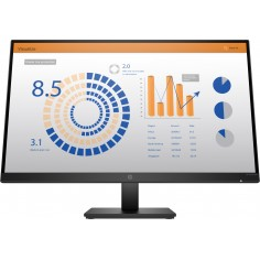 "Monitor HP P27q G4 QHD Height Adjust Monitor 27"" Quad HD LED IPS 60 Hz Nero"