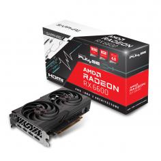 Scheda Video Sapphire Pulse Radeon RX 6600 8GB GDDR6, HDMI, 3x DP